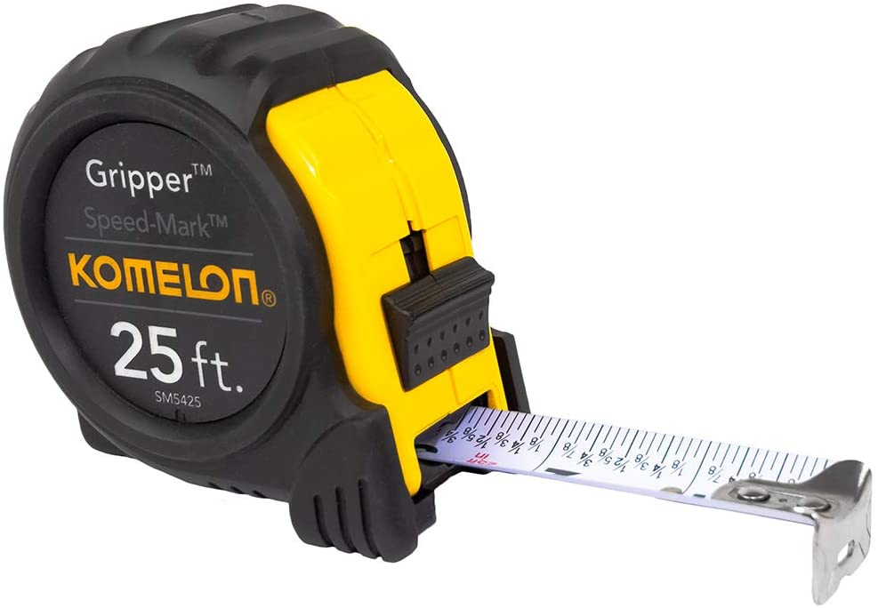 tape measure with fractions