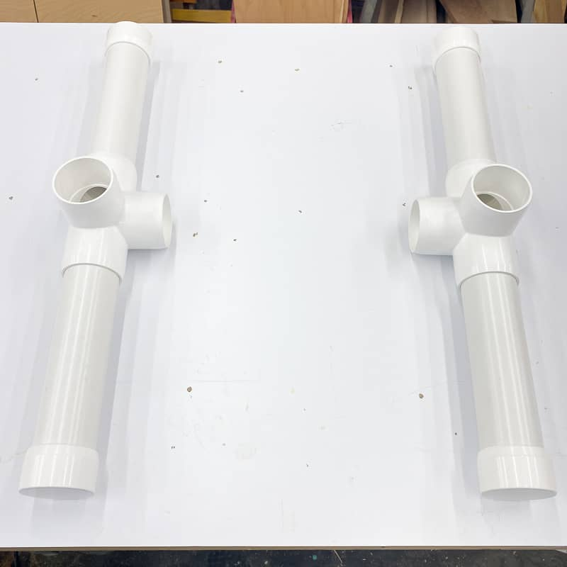 base feet for Nerf gun storage rack
