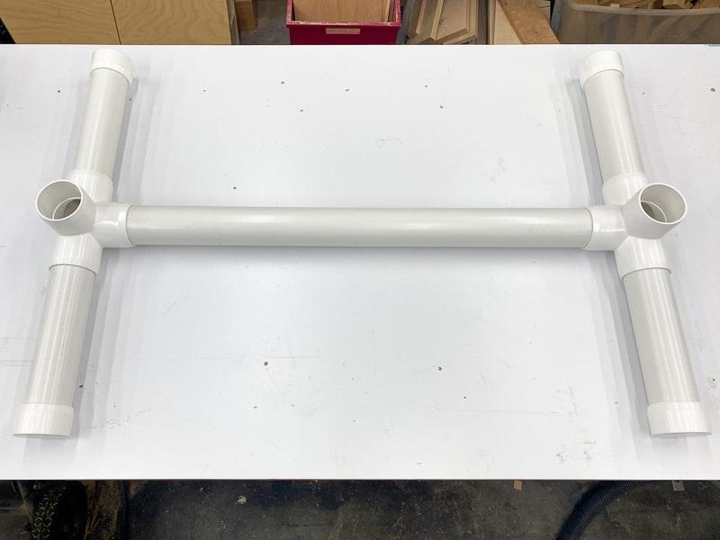 Nerf gun storage rack base