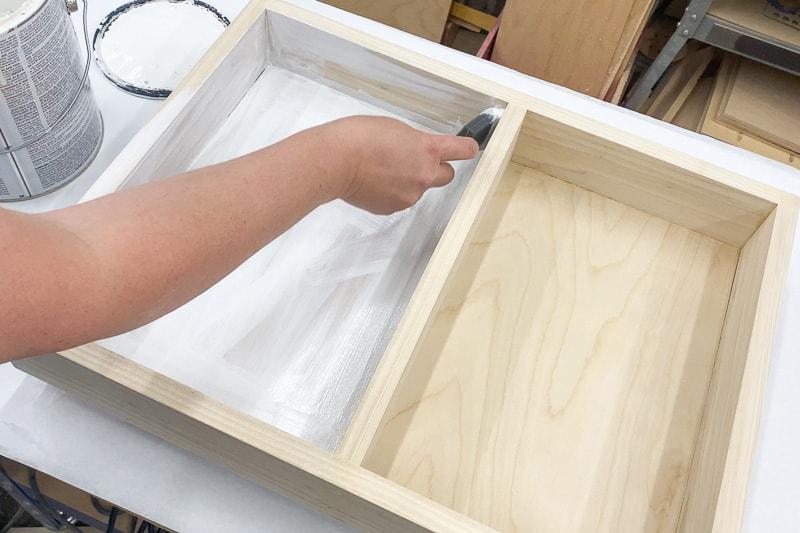 painting Lego tray