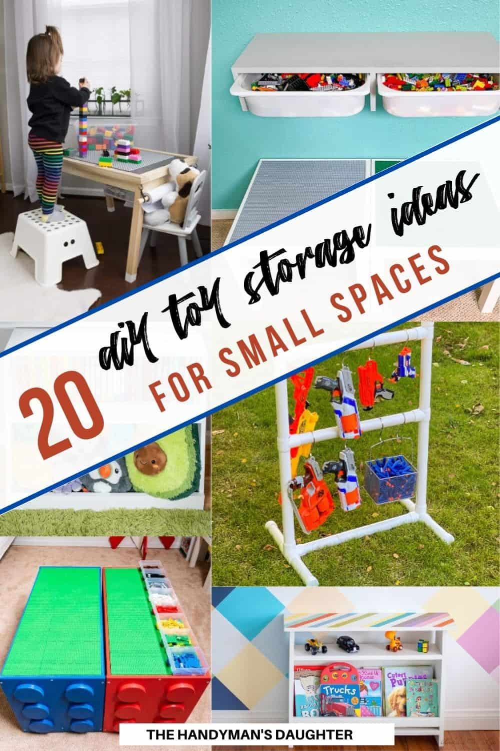 20 DIY toy storage ideas for small spaces