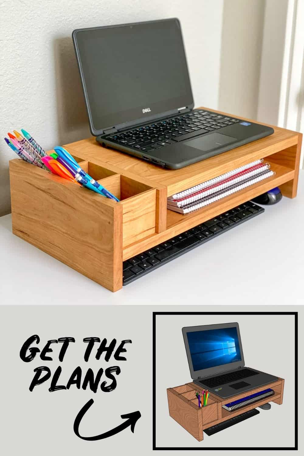 DIY Laptop Stand with Plans