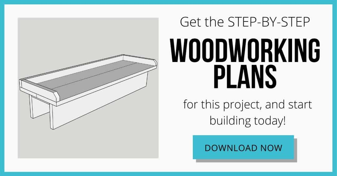 download box for woodworking plans for balcony railing table