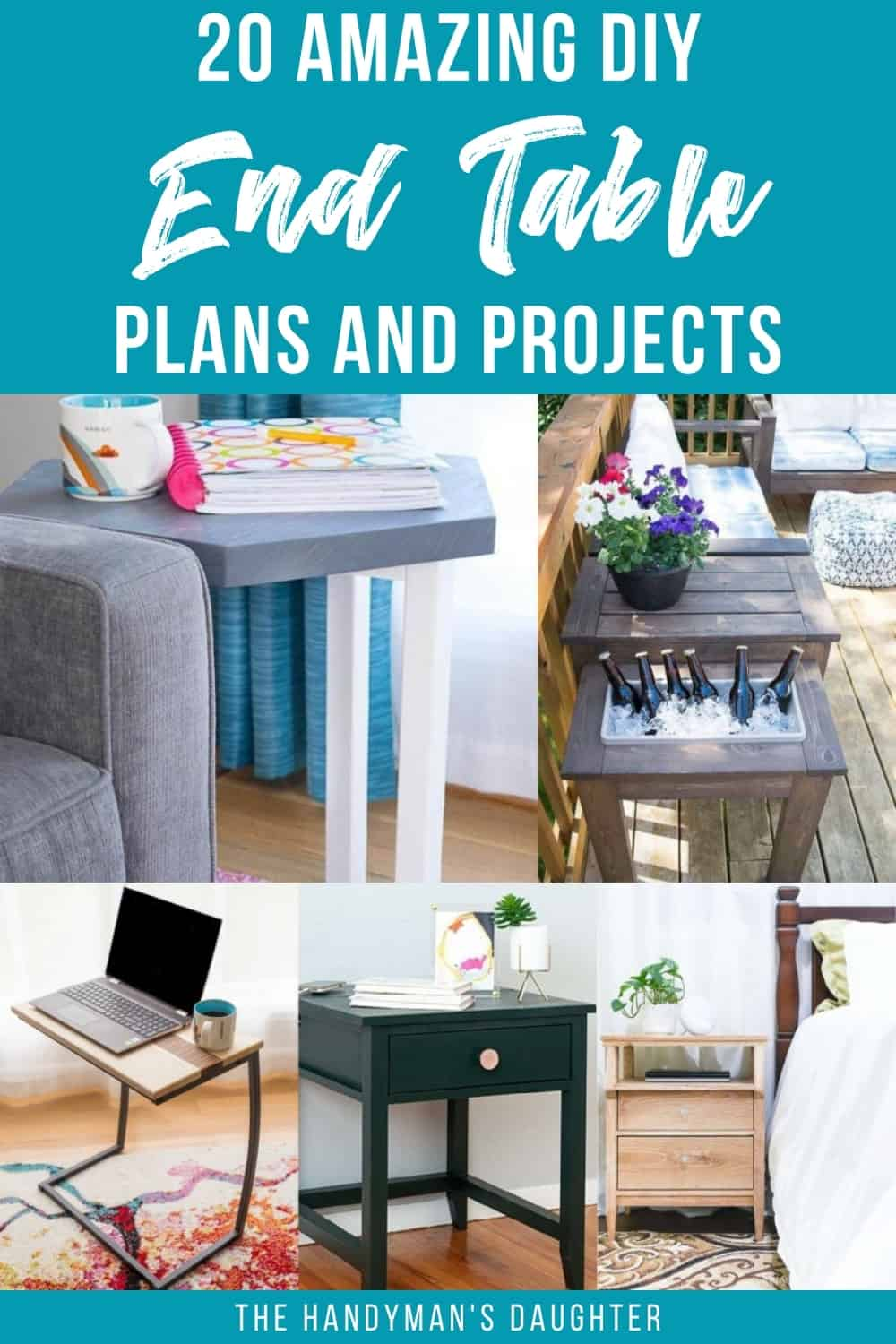 20 amazing DIY end table plans and projects