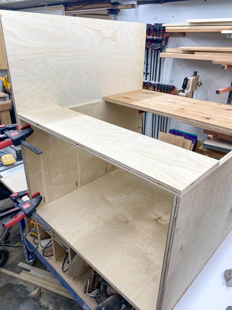 DIY table saw stand base