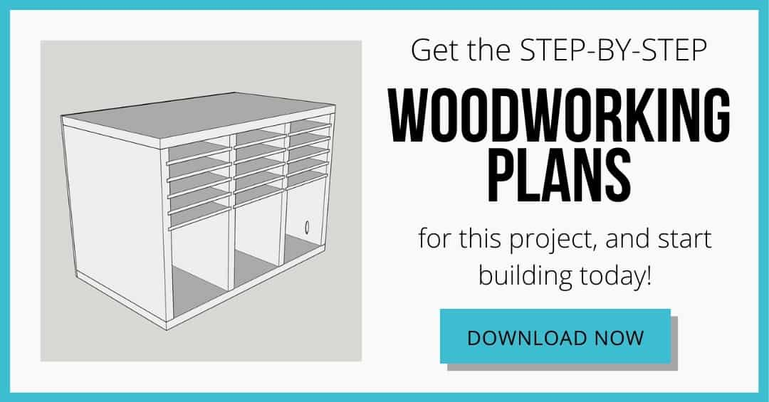 download button for woodworking plans for sander and sandpaper storage