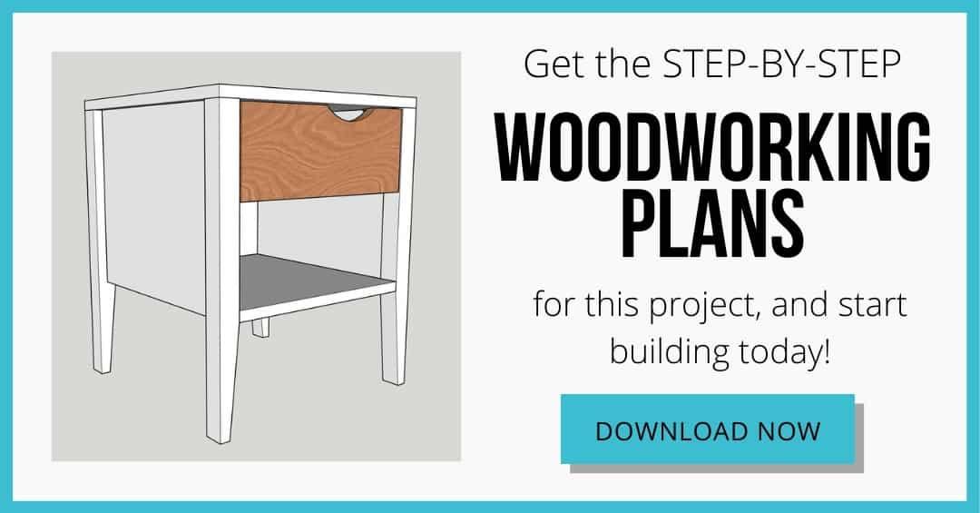 nightstand woodworking plans download box