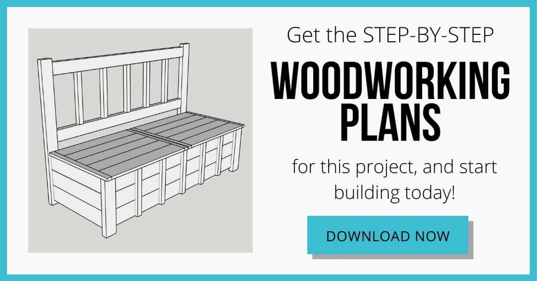 storage bench woodworking plans download box