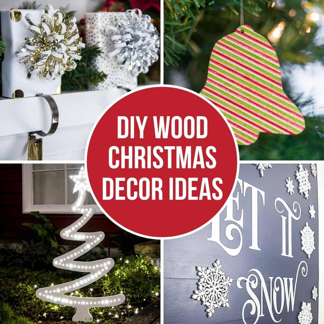 DIY wood Christmas decor ideas