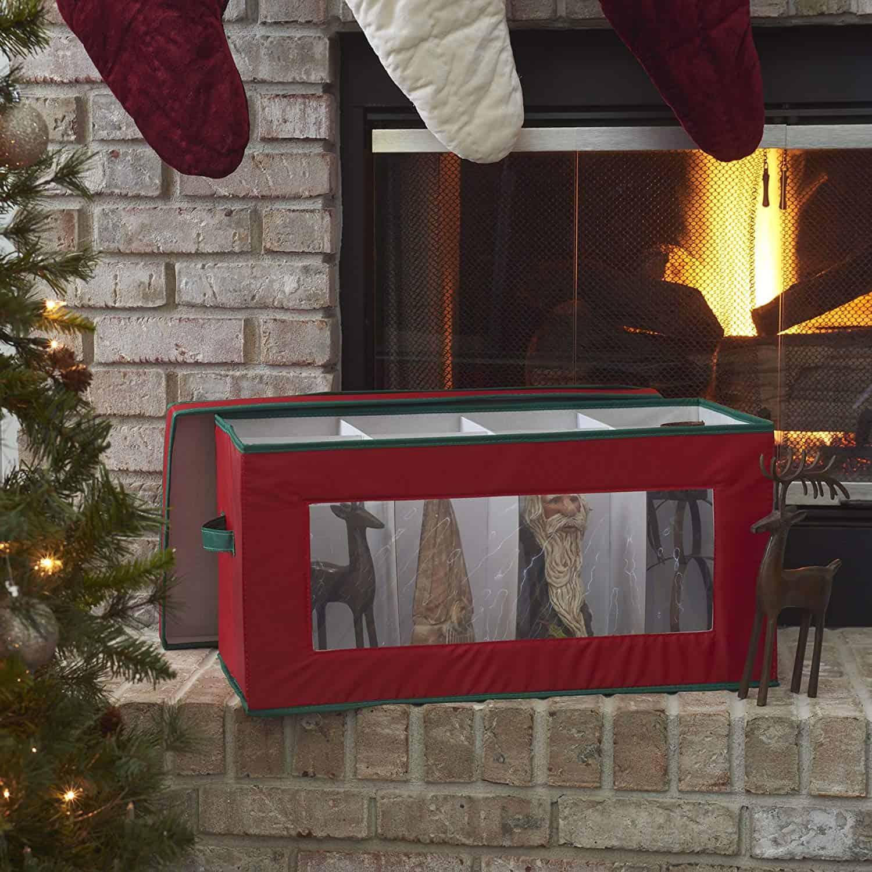 Christmas decor storage chest