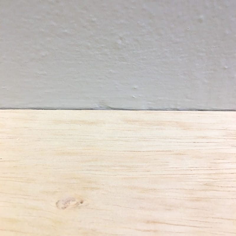 "second sheet of ¼"" plywood hiding the mantel bracket"