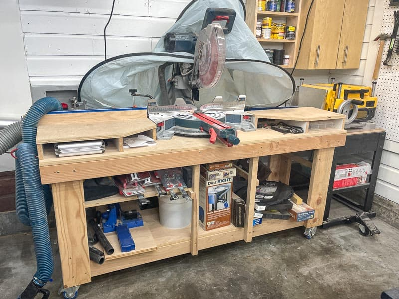 old miter saw stand