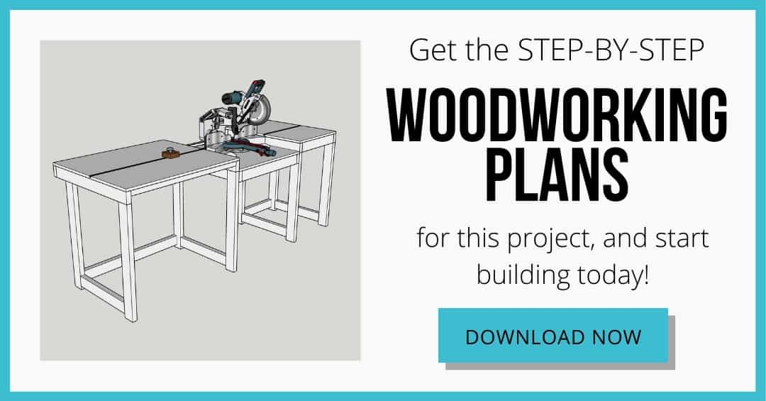 miter saw station plans download box