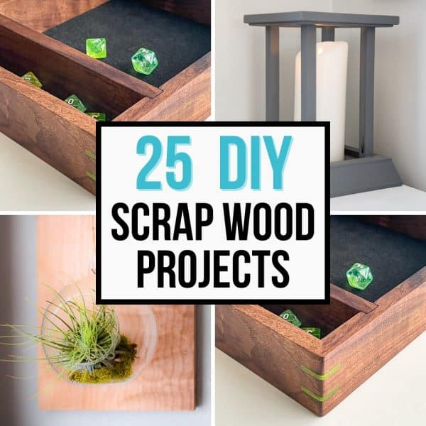 25 DIY scrap wood projects