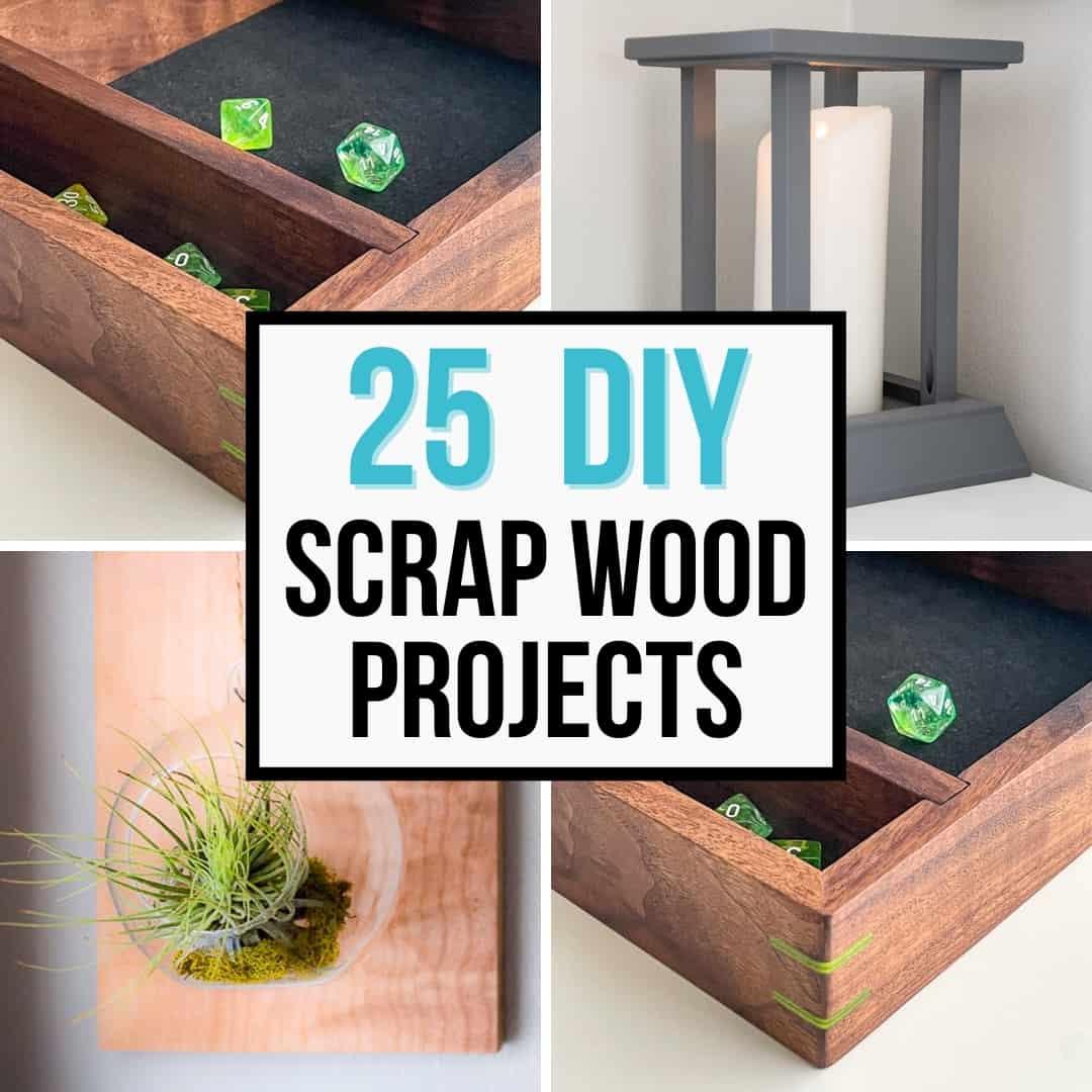 25 DIY scrap wood projects