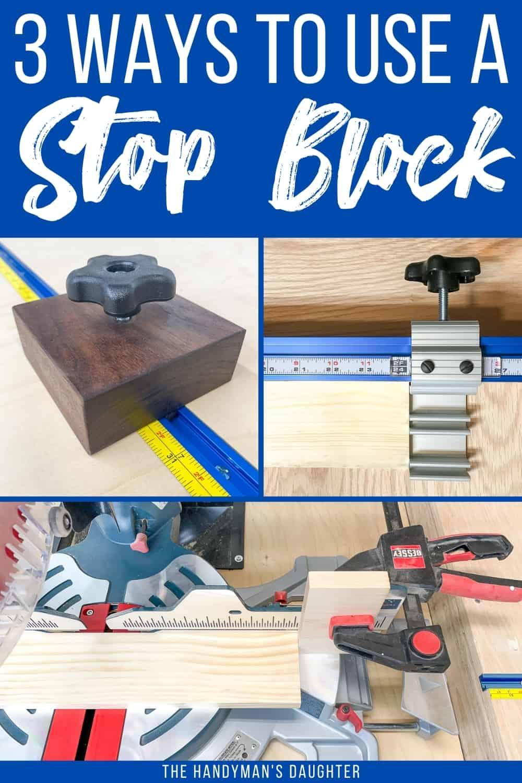 3 ways to set up a miter saw stop block