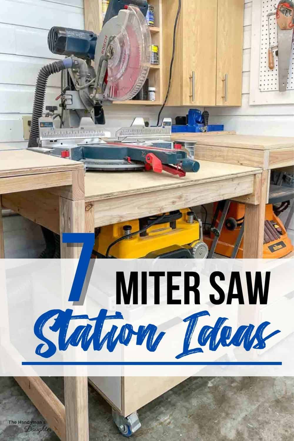 miter saw table ideas