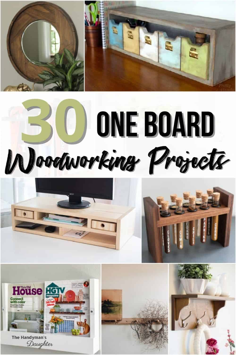 30 one board woodworking projects