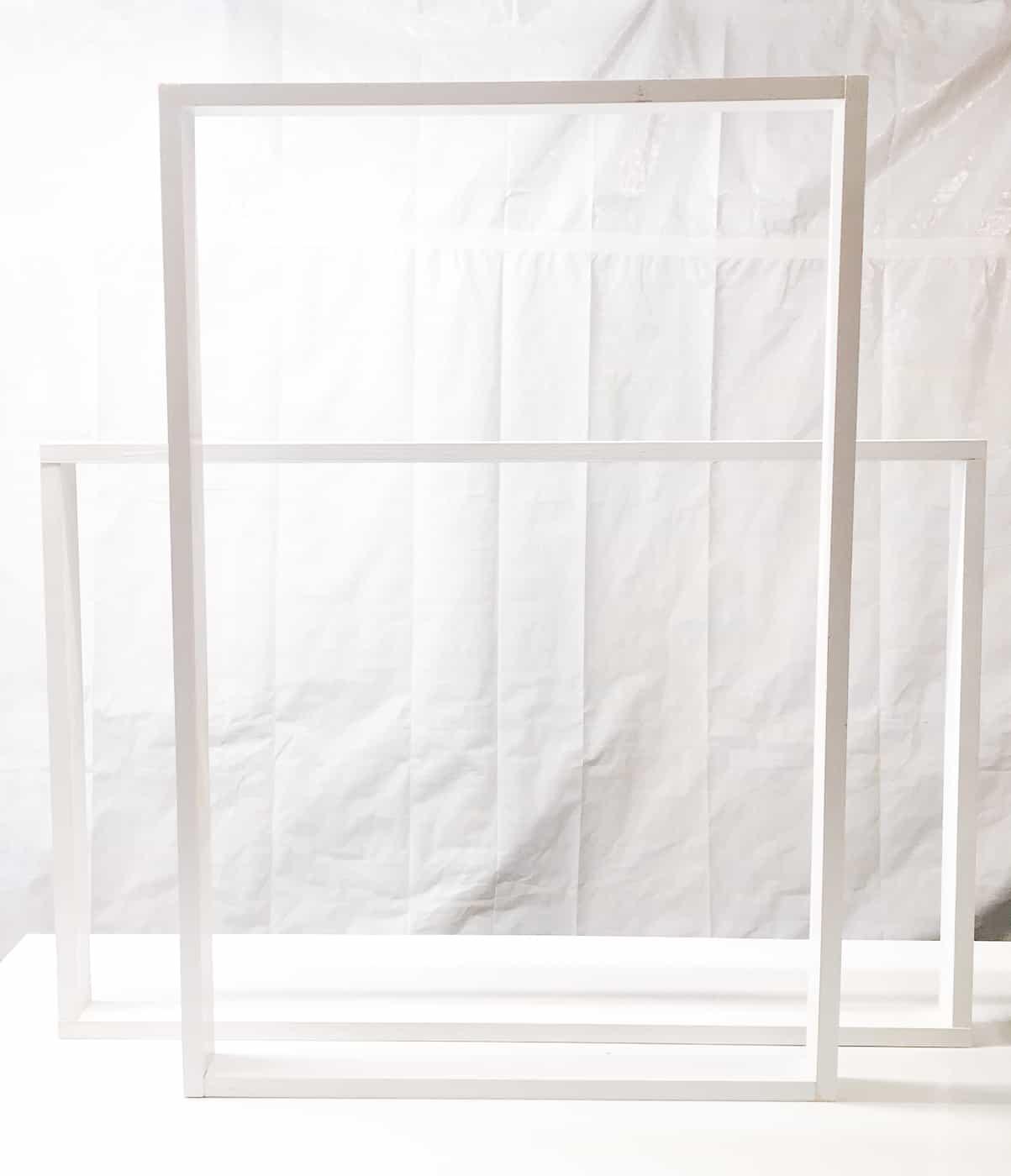 assembled poster frames