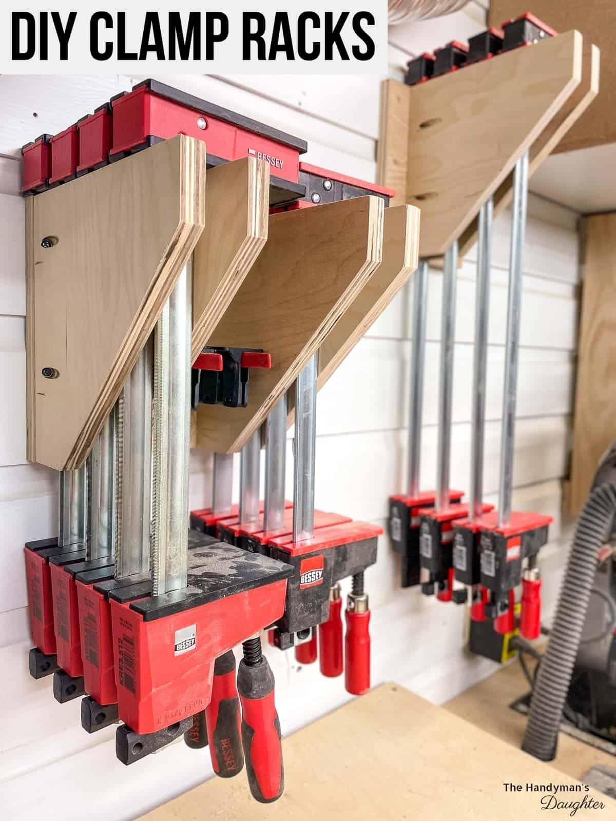 DIY clamp racks