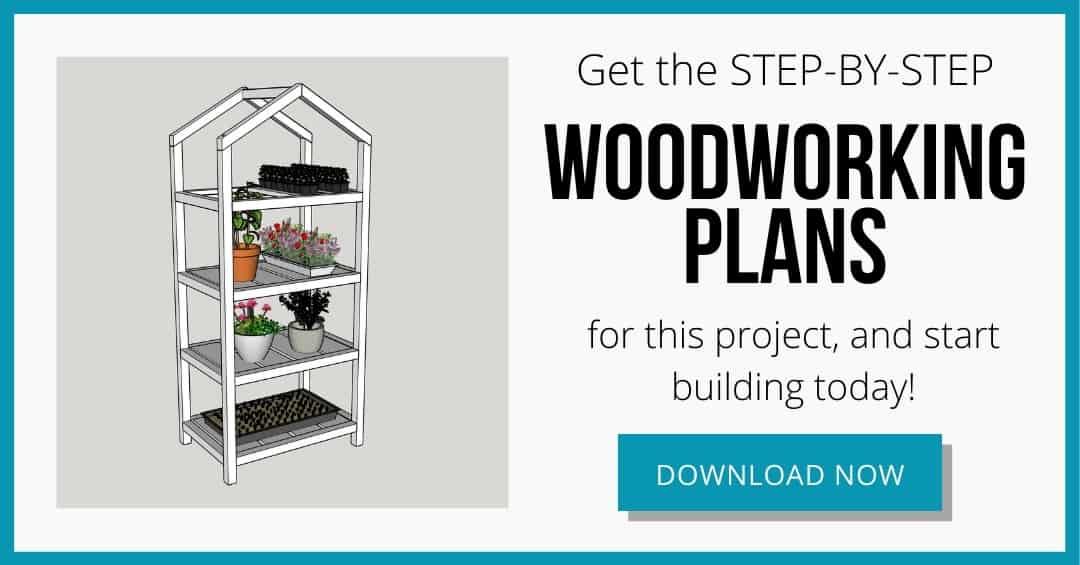 DIY mini greenhouse plans download box