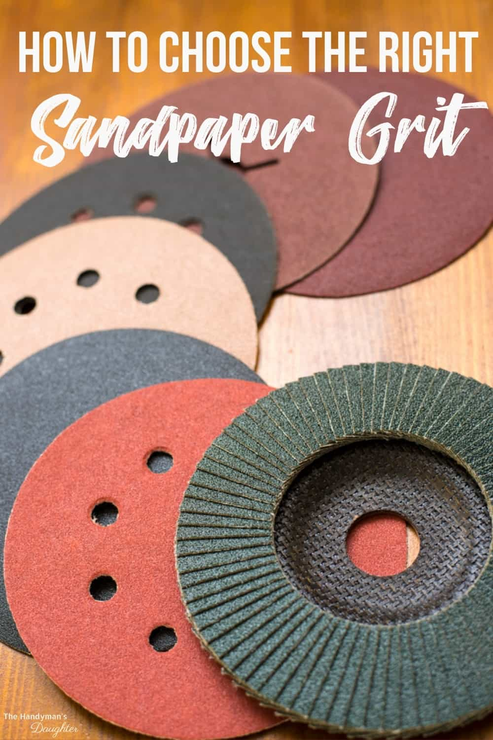 How to choose the right sandpaper grit