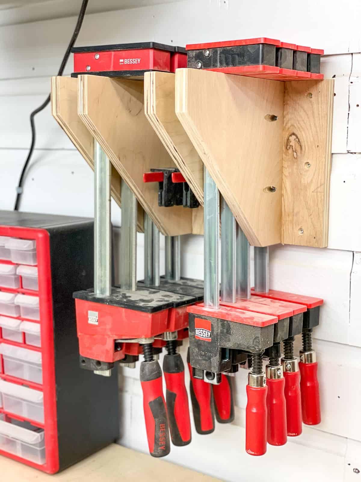 DIY parallel clamp rack