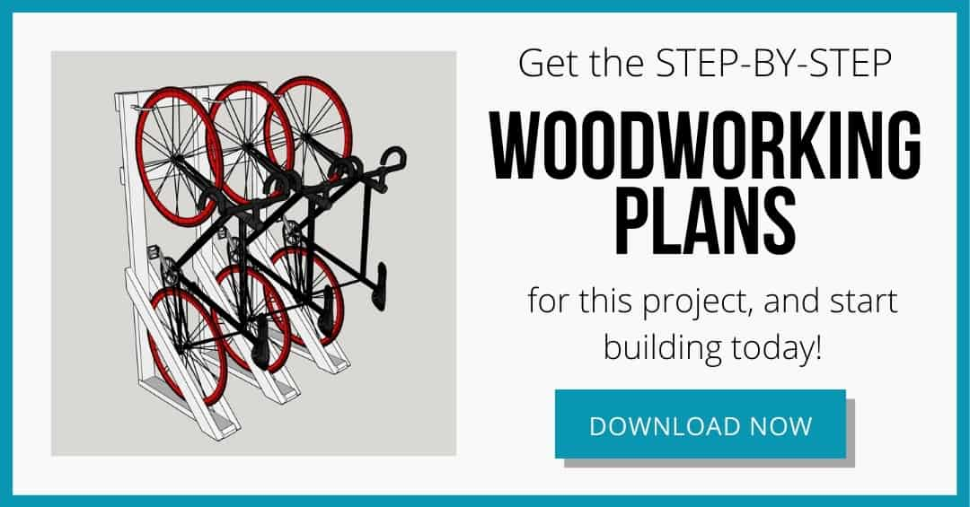 free woodworking plans for DIY bike rack download box