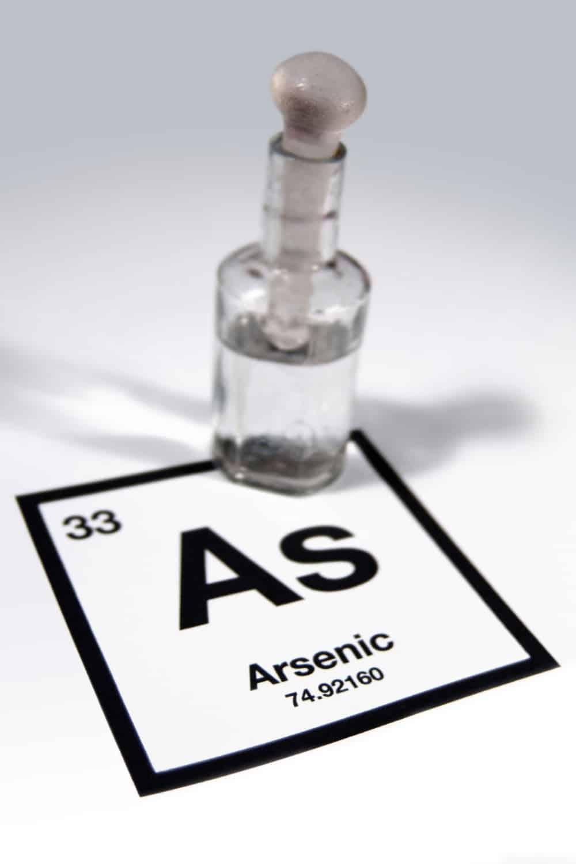 arsenic in a bottle