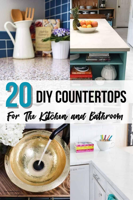 DIY countertop ideas