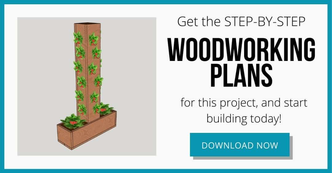 strawberry planter plans download box