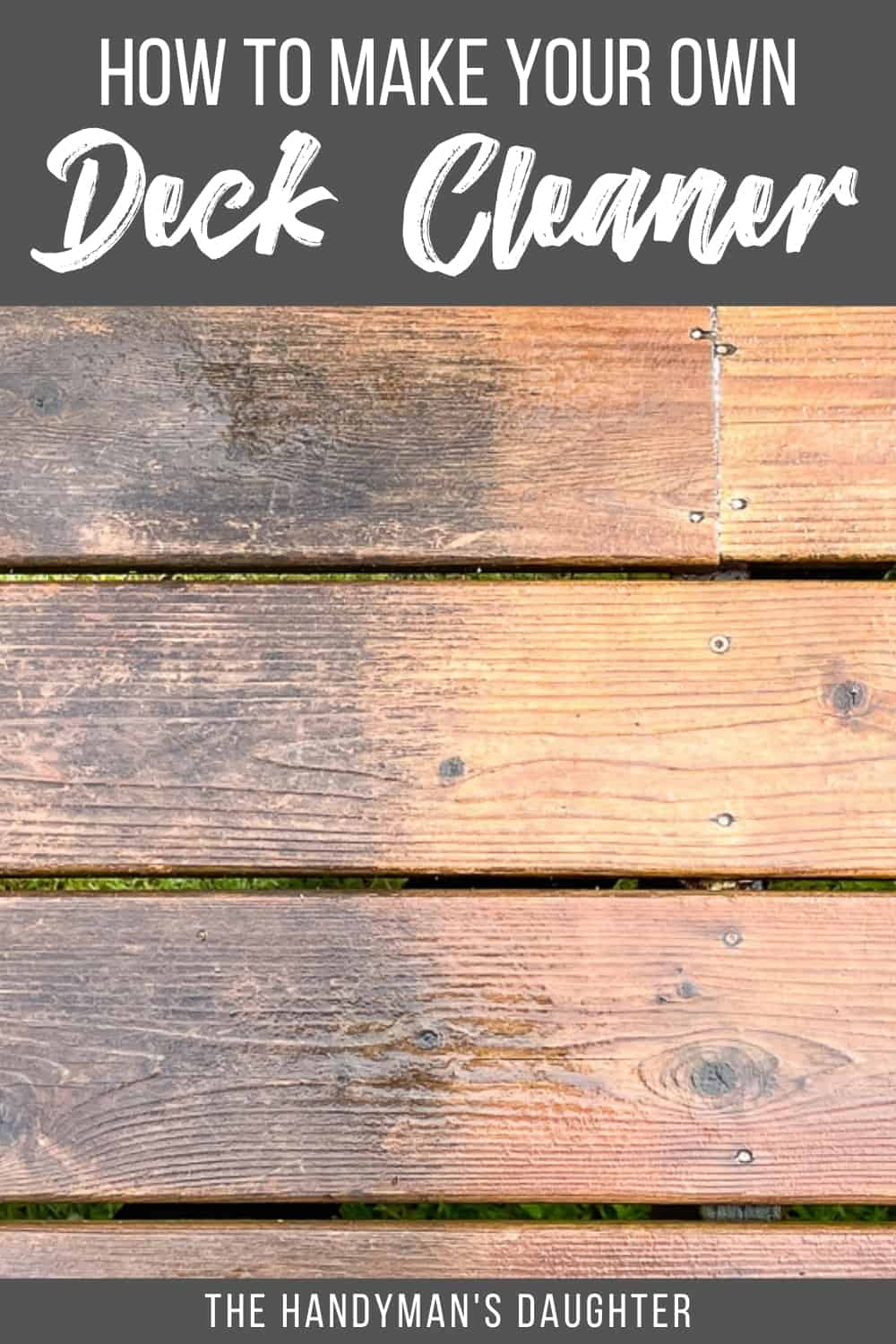 How to Make your own Deck Cleaner