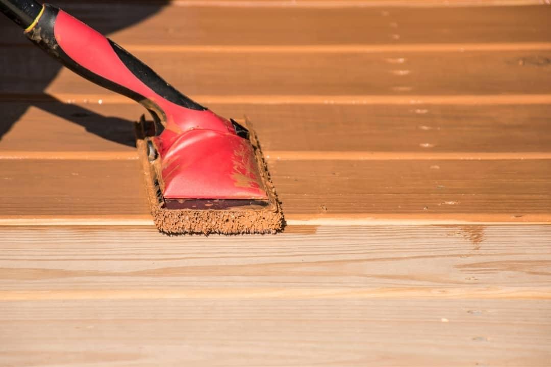 deck stain applicator