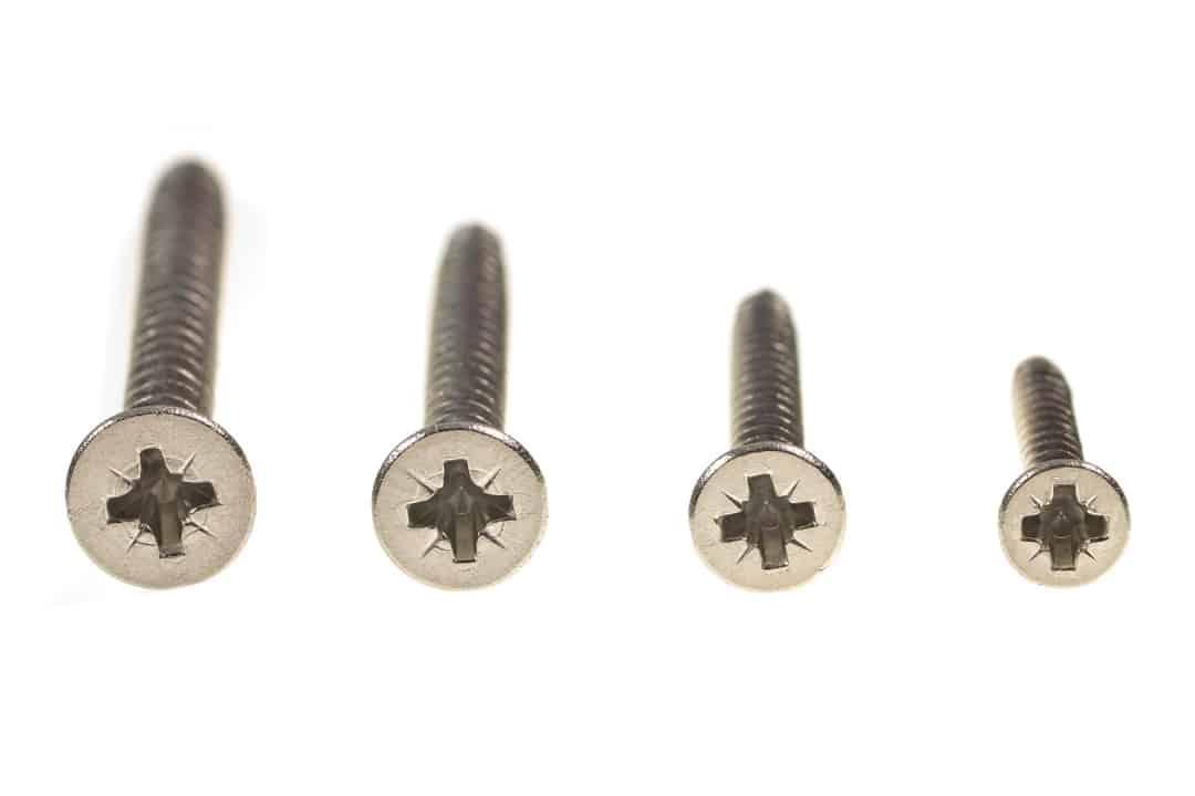 Philips head wood screws