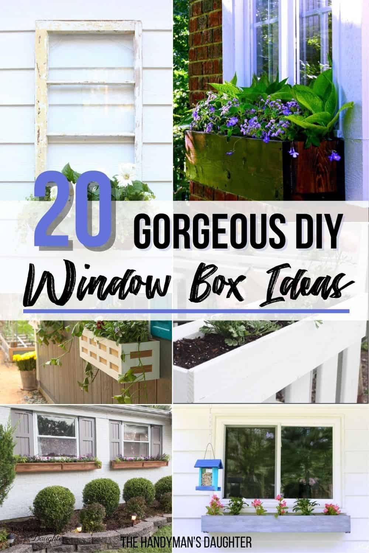 20 gorgeous DIY window box ideas