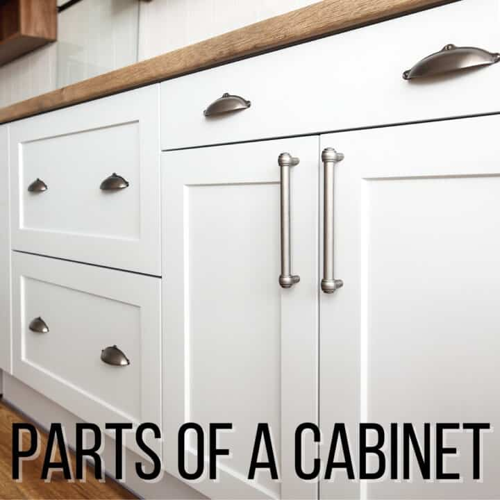 parts of a cabinet