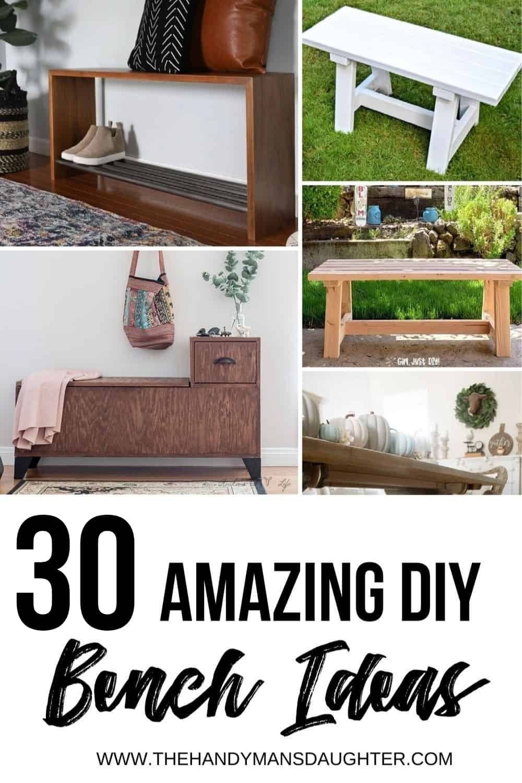 DIY bench ideas
