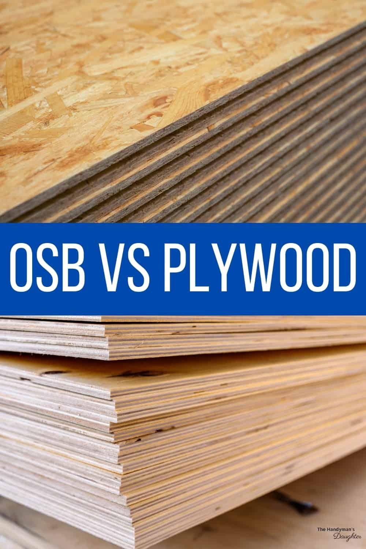 OSB vs plywood