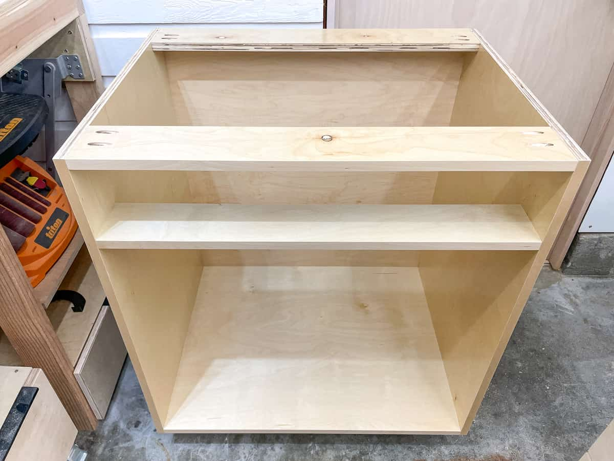 basic cabinet box completed