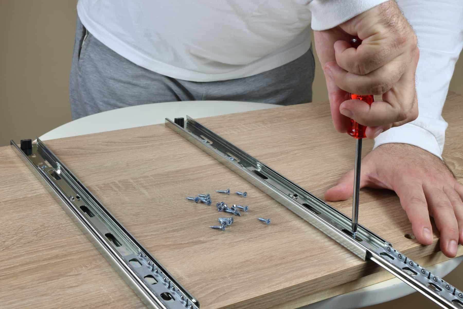 ball bearing drawer slides